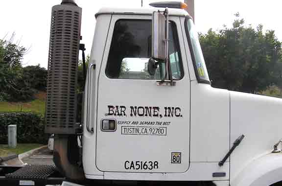 Truck Lettering Orange County Signs